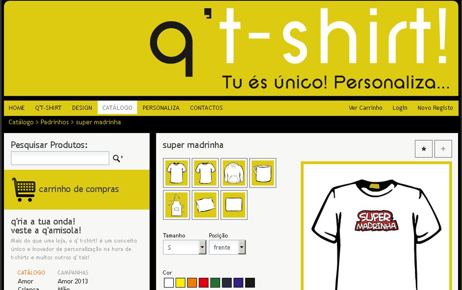 Website - q´t-shirt