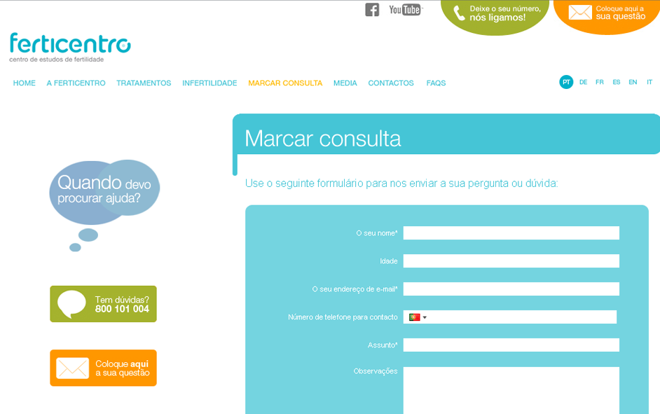 Website - Ferticentro