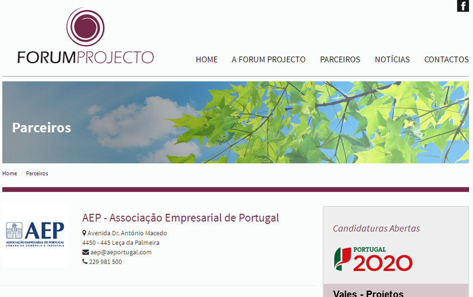 Website - Forum Projecto