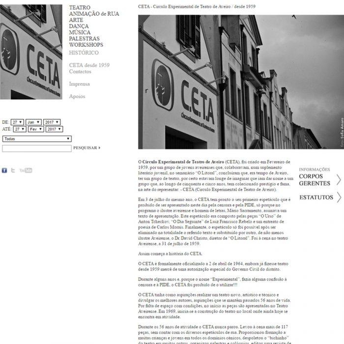 Website - CETA